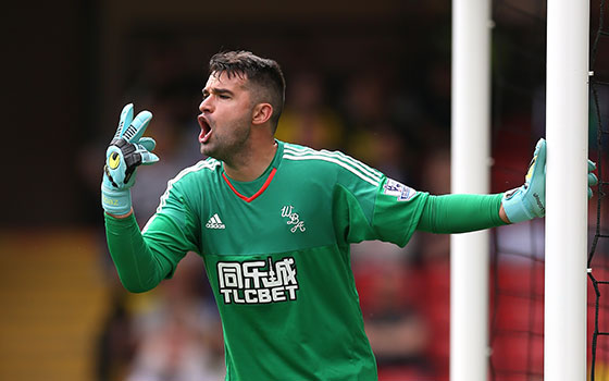 Goalkeeper to watch: Boaz Myhill, West Brom