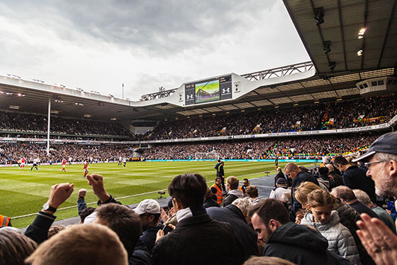 Final North London Derby at White Hart Lane