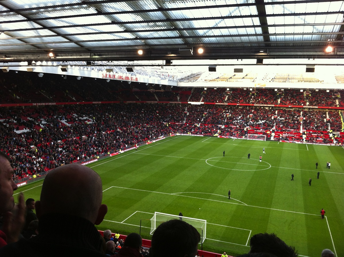 ...to see Manchester United vs Tottenham Hotspur