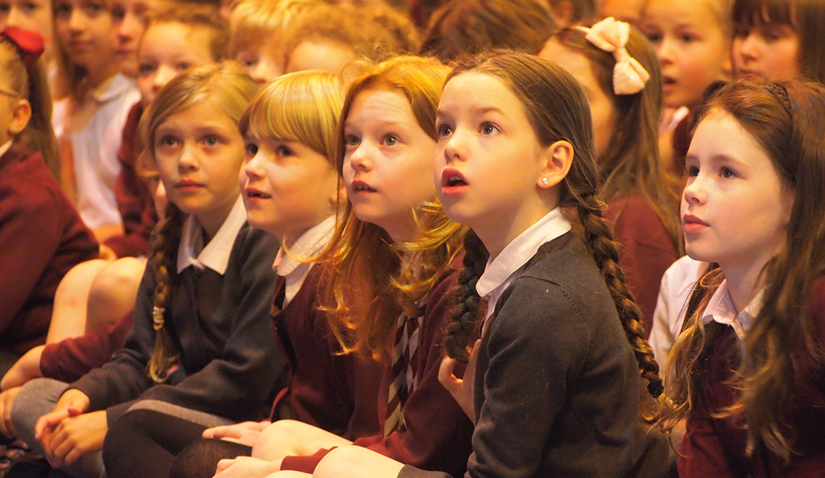 Comely Park School children