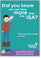 Did you know you can have more than one ISA? - Union soapbox insert