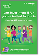 Our Investment ISA - you're invited to join in - mailing pack