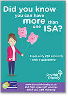 Did you know you can have more than one ISA? - Singleton female insert