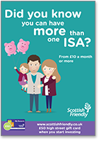 Did you know you can have more than one ISA? - Family insert
